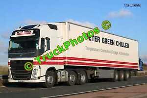 Truck Photo TR-00500 Volvo FH Reg:- WU63RVY Op:- Peter Green M20 Dover Lorry