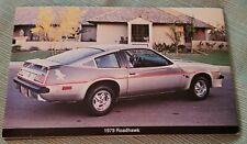 1979 Buick Roadhawk Advertising Postcard