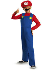 Child's Disney Classic Super Mario Brothers Mario Costume