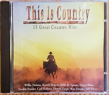 This Is Country - 15 Great Country Hits CD Free Shipping In Canada