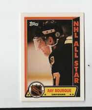 1989 TOPPS RAY BOURQUE BOSTON BRUINS NHL ALL STAR STICKER #7