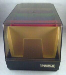 SRW Computer Components Co Minidex/60 Modular View File Floppy Storage Case USA