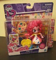 NEW My Little Pony Pinkie Pie Equestria Girls Art Class Set Hasbro Poseable