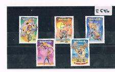 Australia 2007 Circus 5 Values Sheet Fine Used    E586