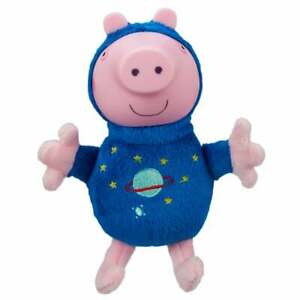 Peppa Pig Glow Friends - Astronaut George Soft Toy with Light Up Face
