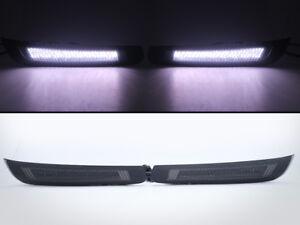LED Daytime Lights For 2017-up Subaru BRZ Gen.2 Smoke Lens White LED Bumper DRL