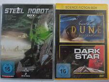 Science Fiction Sammlung - Steel Robot 1 - 4 & Dune Wüstenplanet & Dark Star