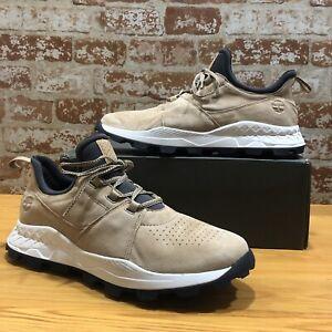 Timberland Men's BROOKLYN OXFORD Casual Walking Sneaker A1YWN MEDIUM BEIGE Sz 11
