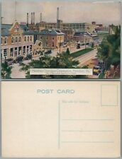 HERSHEY PA CHOCOLATE CORPORATION ANTIQUE POSTCARD