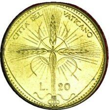elf Vatican City 20 Lire 1968 FAO Pope Paul VI  Cross