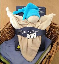 KEPTIN JR coton biologique jouet zmooz Consolateur couverture doll grand-bleu 18...
