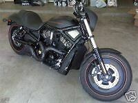 Toxic Turbine Black Ceramic V-Rod Exhaust Pipes Vrod