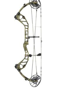 "New Precision Shooting Equipment Evoke LT RH Mossy Oak Country 29"" Draw / 70#"