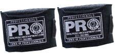 "BLACK 180"" MMA HAND WRAPS - Mexican Elastic Cotton Boxing Wrist New"