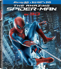 The Amazing Spider-Man [New Blu-ray 3D] With Blu-Ray, With DVD, UV/HD Digital