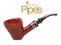 360* Straight GRAINED Alpha 1970's Freehand Estate Pipe GORGEOUS - h60