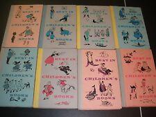 lot of 8 Best in Children's Books HC 1958 & 1959