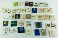 Lot of 40 Vintage Matchbooks Hotels Motels Advertising Major Brands 60's-90's
