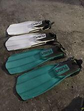 Scuba Snorkeling Liberator X-Ten Tusa Size Large Open Heel 2 Lot
