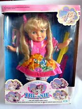 VINTAGE GOLDEN HAIR TRESSIE / 1990 CITITOY / IN ORIGINAL BOX / & ACCESSORIES 13""