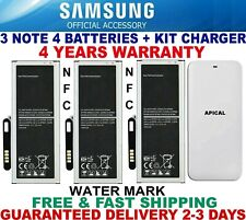 New Samsung Galaxy Note 4 batteries+KIT CHARGER BN910B SM-N910 N910A OEM 3220mAh