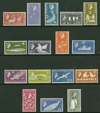 South Georgia   1963-69   Scott #1-16    Mint Never Hinged Set