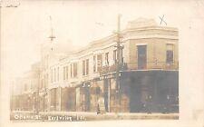 C72/ Earlville Illinois Il Photo RPPC Postcard c1910 Ottawa Street Wallace House