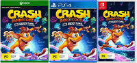 Crash Bandicoot 4 Its About Time XBOX One PS4 Nintendo Switch Family Kids Game