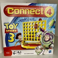 Connect 4 Four Toy Story 3 Disney Pixar 2009 Game Hasbro Ages 6+ 100% Complete