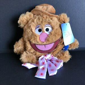 FOZZIE BEAR Plush Round Toy Disney The Muppets 15cm New With Tags