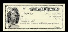 ABNC PROOF PRINT BANK OF RUBY CITY COLORADO CERTIFICATE OF DEPOSIT
