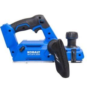 NEW Kobalt 3.25-in W 24-Volt Max Handheld Planer  Brushless motor