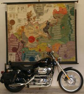 Wandkarte Das Diktat von Versailles Vertrag VS Fremdbestimmt 213x182 Druck:~1938