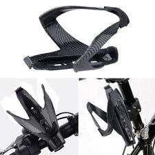 Carbon Fiber Water Drink Bottle Rack Holder Bracket Cage for Bicycle MTB Bike