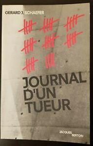 Journal d'un tueur (Français) – 1992, BE