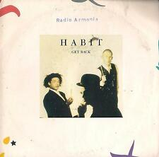 DISCO 45 Giri  Habit - Get Back / Funky Train