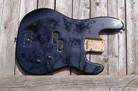 CHARVEL/JACKSON BASS BODY, Black, Parts/Project, Fender Precision Style/P Bass