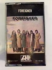 Foreigner Self Titled (Cassette)