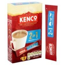 Kenco 2 en 1 Lisse Blanc Café 5 Sachets 70gr (5 X 14g)