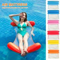 Inflatable Floating Water Hammock Float Pool Lounge Bed Swimming Chair Beach US