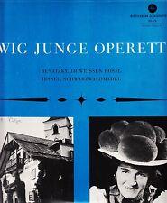 *- Vinyl-LP -Ewig Junge OPERETTE - Im weissen RÖSSL/ Schwarzwaldmädel