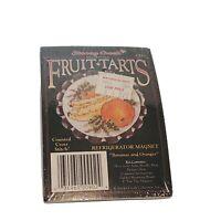Stoney Creek Fruit Tarts Cross Stitch Kit Magnet Craft Kit Bananas And Oranges