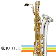 Jupiter JBS1100SG Silver Plated Key of Bb Performance Level Baritone Saxophone