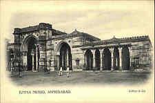 India India PC per 1900 Ahmedabad Jumma Musjid Clifton VINTAGE POSTCARD Asia