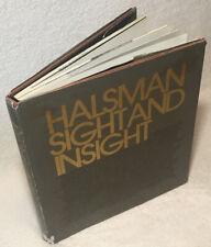 Philippe Halsman SIGHT AND INSIGHT ~ Exlib 1st Edition ~ 200 Iconic Portraits
