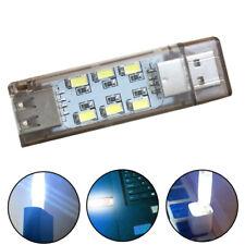 KM_ Mini Pocket USB LED Night Light Double-Sided Bulb Lamp Gadget for Reading Bo