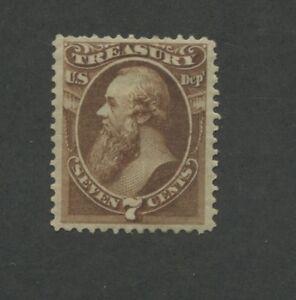 1873 United States Treasury Dept. Stamp #O76 VF Mint Hinged Disturbed OG