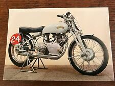 Vintage 1951 500cc Vincent Grey Flash National Motorcycle Museum Postcard (B)