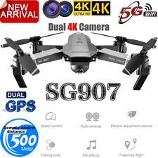 SG907 GPS WIFI FPV RC Wide Angle Foldable Quadcopter 4K HD Professiona Dronel!!!