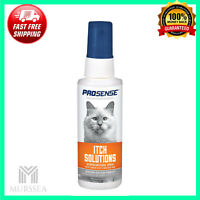 Pro-Sense Cat Itch Solutions Hydrocortisone Spray Aloe Vera Formula 4 Oz 118mL
